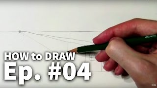 Download Learn to Draw #04 - One-Point Perspective Video