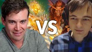 Download (Hearthstone) Kibler VS Kolento: Kazakus Priest vs Jade Druid Video