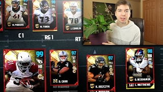 Download THREE 99 OVERALLS!! ROAD TO THE SUPER BOWL #1 - MADDEN 17 ULTIMATE TEAM Video