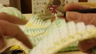 Download Camisola para bebe 0.3 meses em croche 1 parte Video