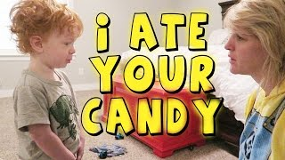 Download YouTube Challenge - I Told My Kids I Ate All Their Halloween Candy 2015 Video