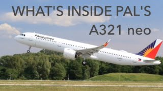Download What's inside Philippine Airlines Brand new a321 neo Video