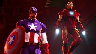 Download Iron Man and Captain America: Heroes United 2014 film Video