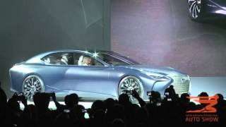 Download Lexus LF-FC Concept and LC 500 is presented at the 2016 NAIAS Video