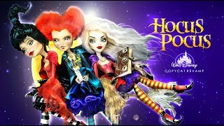 Download Doll Figurine HOCUS POCUS The Sanderson Sisters   Halloween   Witches   Monster High Repaint Ooak Video