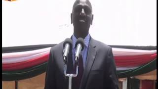 Download DP Ruto, Bomet Governor face-off during a fund raiser in Bomet County Video