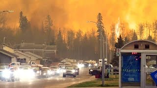 Download Alberta wildfires: All of Fort McMurray evacuated Video