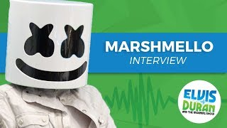 Download Elvis Duran's Silent AF Interview With Marshmello | Elvis Duran Show Video
