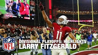 Download Larry Fitzgerald Highlights (Divisional Playoffs) | Packers vs. Cardinals | NFL Video