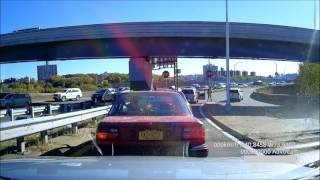 Download Hit and run in Manhattan caught on my dashcam Video