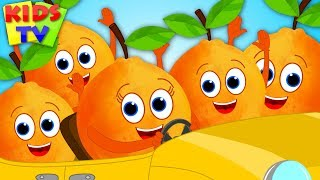 Download Five Little Oranges | Nursery Rhymes & Songs for Children | Cartoon Videos Video