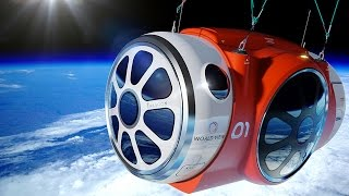 Download Space balloon to lift tourists into space, Virgin Galactic SpaceshipTwo - space tourism compilation Video