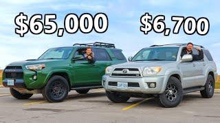 Download 2020 Toyota 4Runner TRD Pro vs The V8 4Runner We JUST Bought // OFF ROAD TEST Video