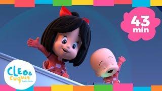 Download TAN ALTA COMO LA LUNA y más canciones. Cleo & Cuquín | Familia Telerín. Canciones para niños (43min) Video
