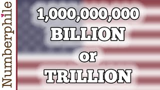 Download How big is a billion? - Numberphile Video