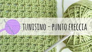 Download Tutorial uncinetto tunisino - punto freccia Video