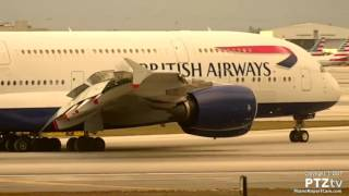 Download British Airways BA209 A380 Arrives MIA on 3/25/2017 Video