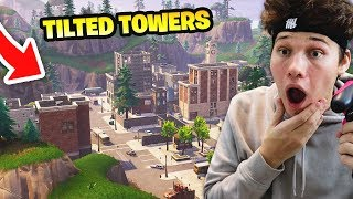 Download I ONLY LANDED AT TILTED TOWERS AND THIS HAPPENED... Fortnite Battle Royale Video