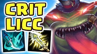 Download TAHM KENCH JUNGLE IS ACTUALLY BROKEN!! NEW META CRIT BUILD | IS THERE ANY COUNTERPLAY?! - Nightblue3 Video