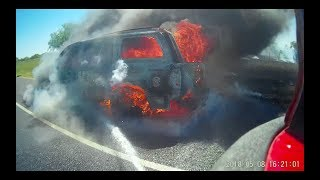 Download FireCam - Fully involved Vehicle Fire Video