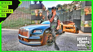 Download GTA 5 MOD#194 LET'S GO TO WORK NEW MANSION !! (GTA 5 REAL LIFE MOD) Video