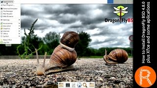 Download How to install DragonFly BSD 4.8.0 plus Xfce and some aplications Video