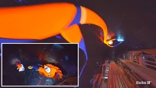 Download [4K] Incredibles Coaster Ride at Night - Disney California Adventure - Incredicoaster Video