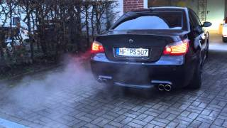 Download BMW M5 Stroker 5,8L cold start Video