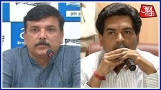 Download AAP Minister Sanjay Singh Reacts To All Accusations Of BJP And Kapil Mishra Video