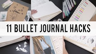 Download 11 BULLET JOURNAL HACKS / DIY / Tips / IDEAS | ANN LE Video