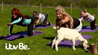 Download The Real Housewives of Cheshire | Lauren and Ester Try Goat Yoga! | ITVBe Video