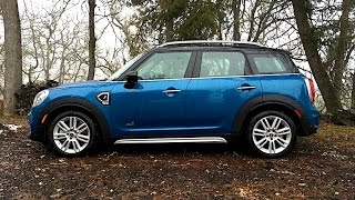 Download Driving a MINI in the Snow! 2017 MINI Cooper S Countryman ALL4 FIRST DRIVE REVIEW (2 of 2} Video