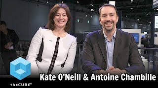 Download Kate O'Neill, HPE & Antoine Chambile, ActiveViam - #HPEdiscover - #theCUBE Video