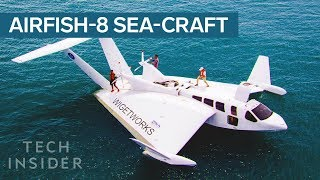Download This Sea-Craft Looks Like A Plane, Has A Car's Engine, And Docks Like A Boat Video