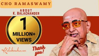 Download Kalakendra | Hillarious Talk by Cho about Director K Balachander Video