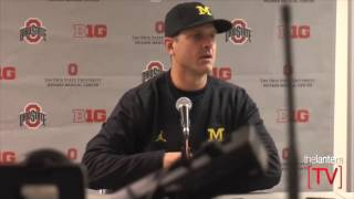 Download Jim Harbaugh speaks after No. 2 Ohio State beats No. 3 Michigan 30-27 Video