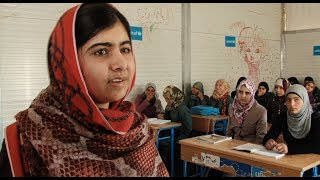 Download Jordan: Malala Visits Za'atari Refugee Camp Video