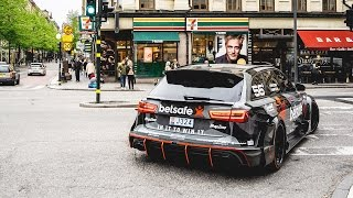 Download Jon Olsson's Audi RS6 DTM – most sought after car in the history of Uber Stockholm Video