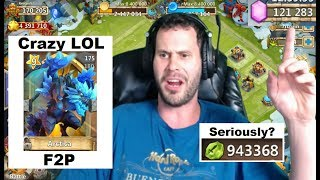 Download FREE 2 PLAY INSANITY 120,000 GEMS Arctica 1 MILLION Shards Castle Clash Video