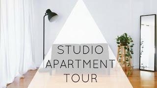 Download Minimalist Studio Apartment Tour | ZERO WASTE Video