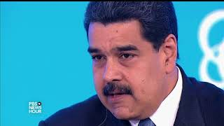 Download Maduro: Trump has 'no right' to joke about military action in Venezuela Video