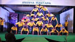 Download Human Pyramids | Janvey 2k14 | JNNCE Video