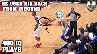 Download NBA ″400 IQ PLAYS″ Moments Video