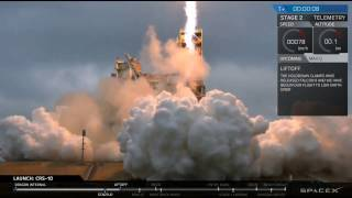 Download Successful SpaceX Launch & Landing of Falcon 9 + Dragon CRS-10 Mission to the ISS (2017-02-19) Video