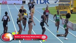 Download Kenya wins 4x4M Relay Mixed Heat 1 Video