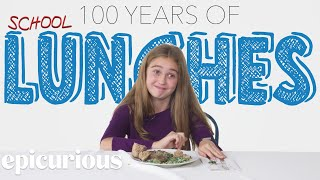 Download Kids Try 100 Years of School Lunches Video