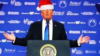 Download Trump Declares War On 'The War On Christmas' Video