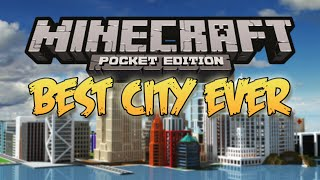 Download The Most Amazing City Map!!! - Minecraft Pocket Edition (Coolest Worlds) Video