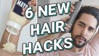 Download 6 NEW HAIR HACKS Every Guy Should Know - Hair / Grooming Hacks For Men 2017 - ✖ James Welsh Video