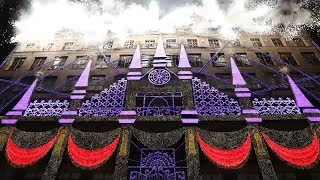 Download Saks Fifth Avenue unveils dazzling Broadway-theme holiday windows | In Our Backyard Video